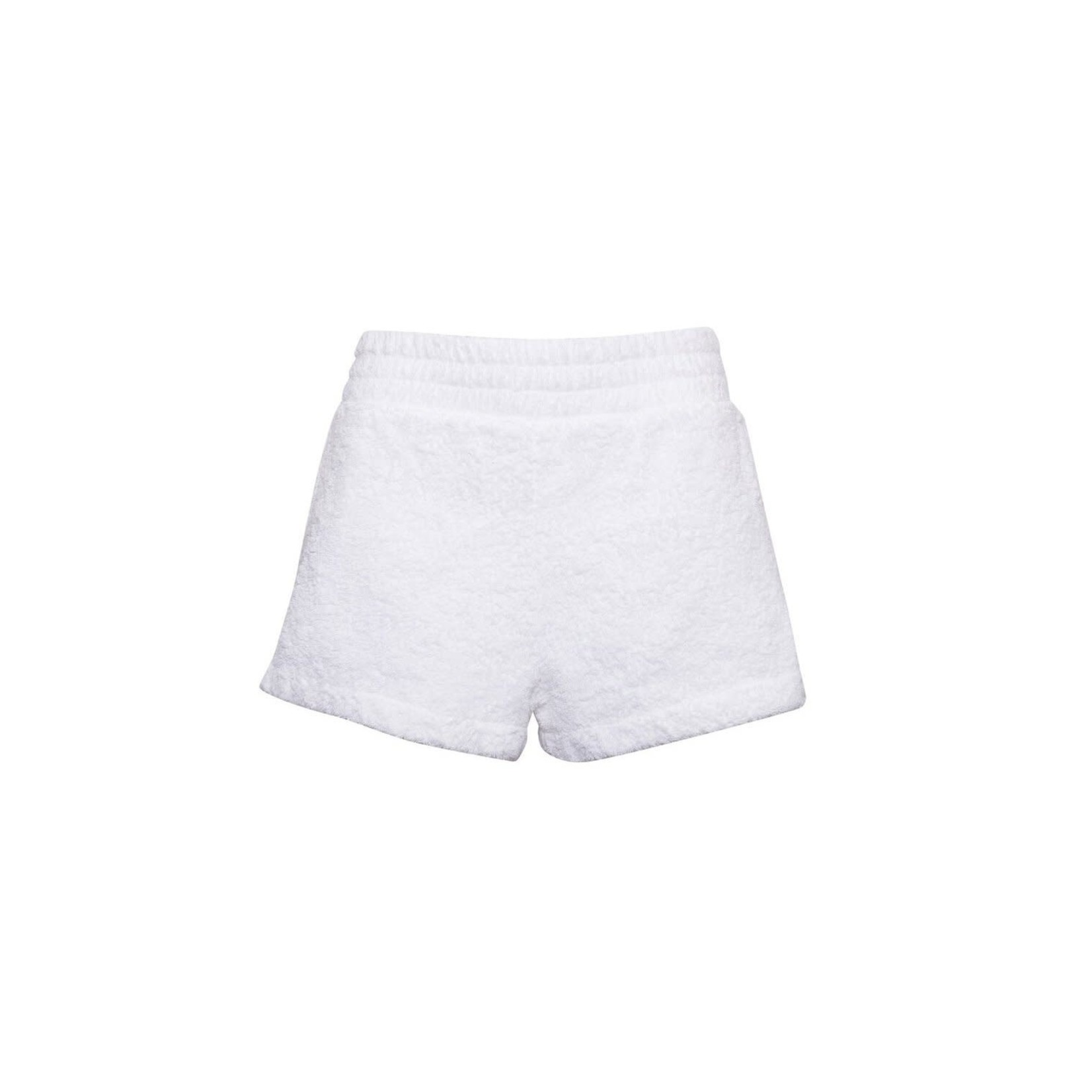 The Bar Zi Shorts White