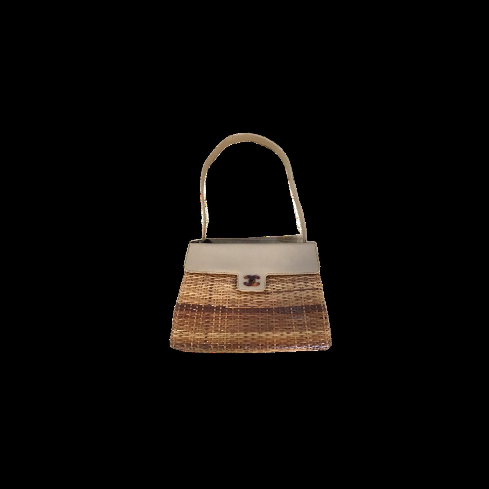 Chanel Chanel Raffia Shoulder Bag