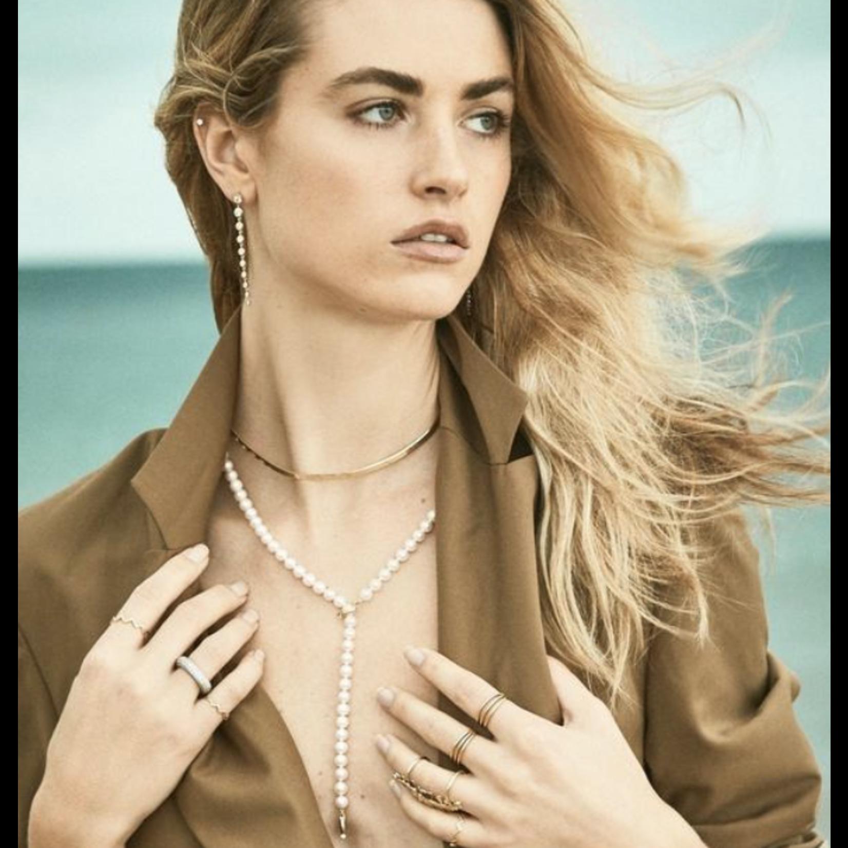 KBH Jewels Thick Liquid Gold Heringbone