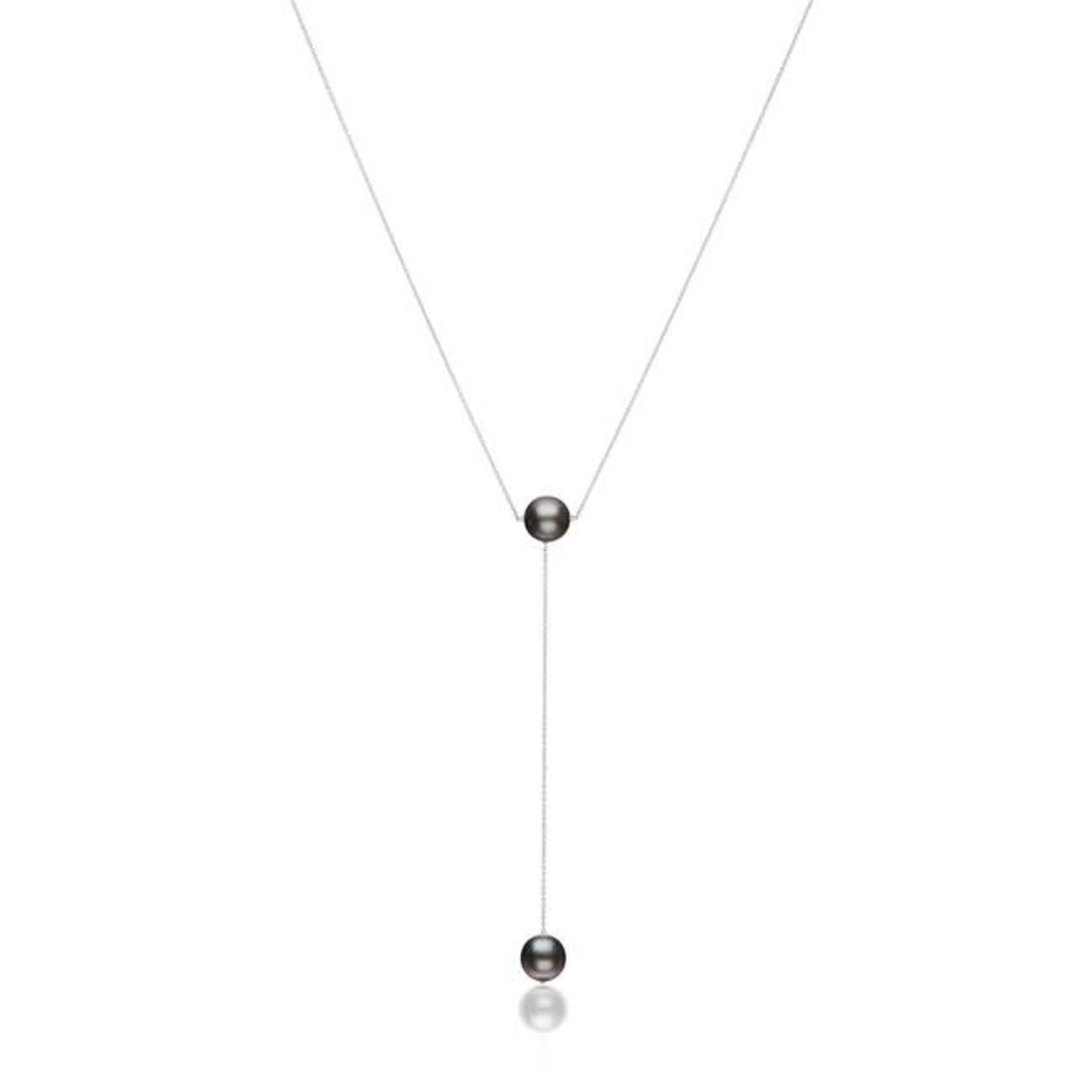 KBH Jewels Black Tahitian Pearl Lariat