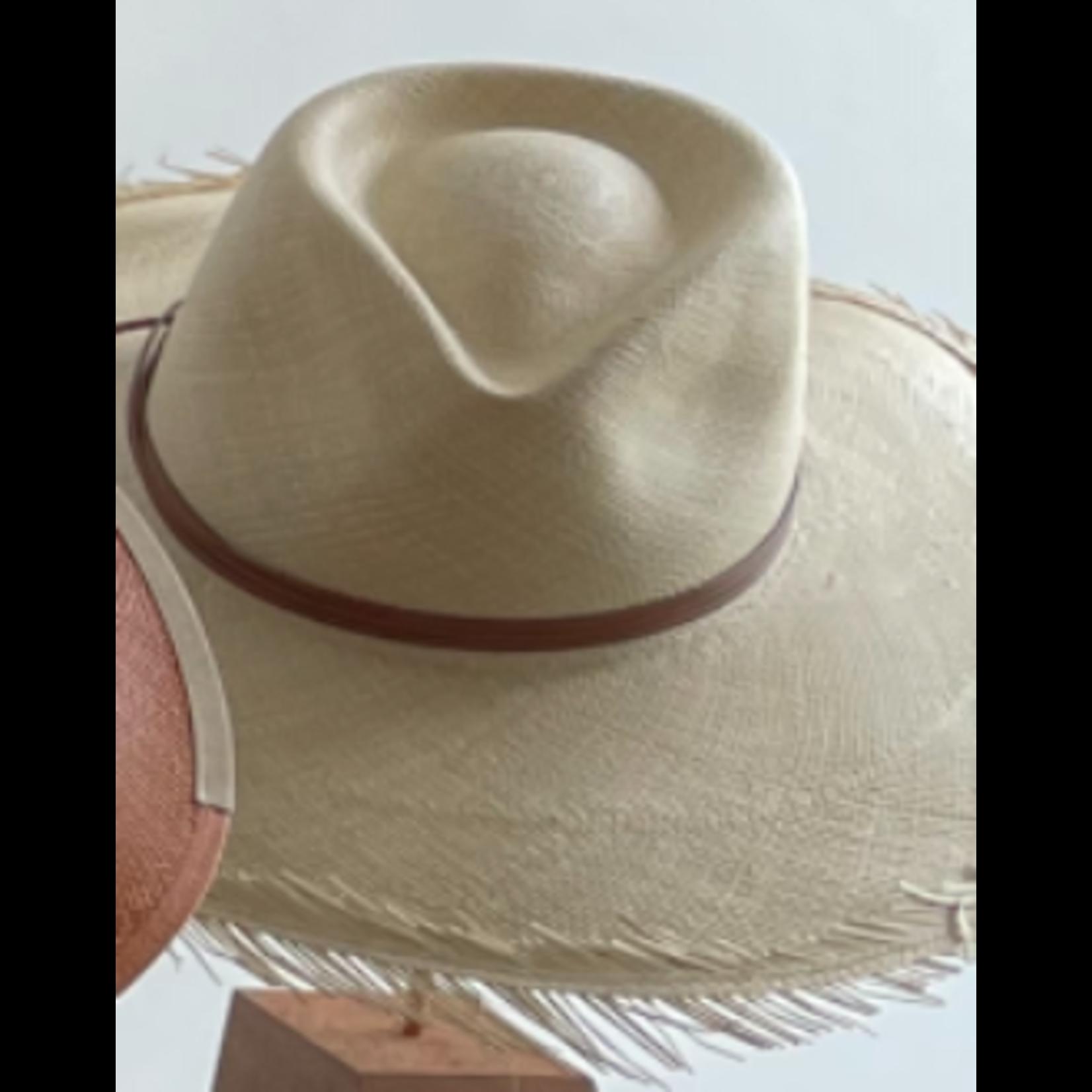 Modern Monarchie Ravello Straw Fray Hat