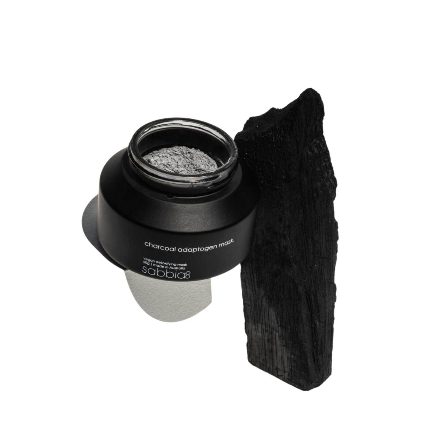 Sabbia Co Charcoal Adaptogen Mask