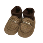 Wyld Blue Kids Gucci Baby Shoes Brown (sz 17)
