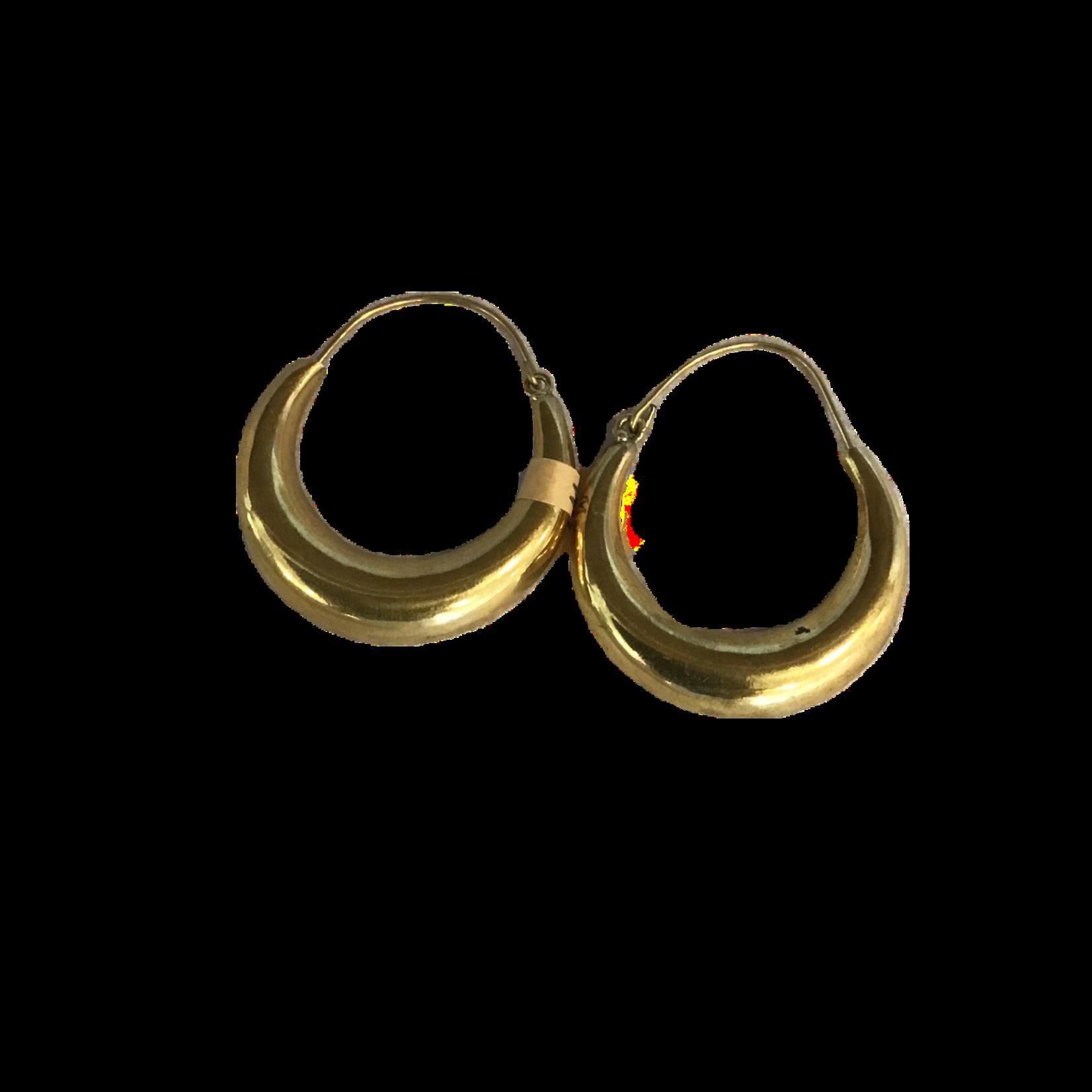 Wildsea Handmade Brass Hoops