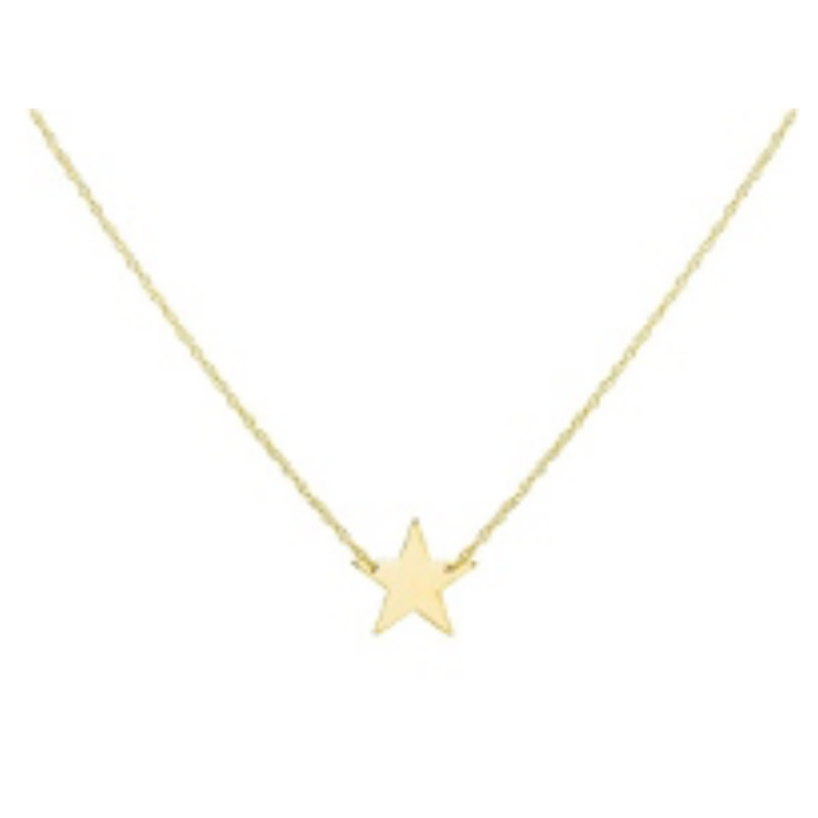 Adinas Mini Star Necklace 14K