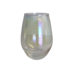 Iridescent Wine Glass