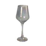 Iridescent Stem Wine Glass