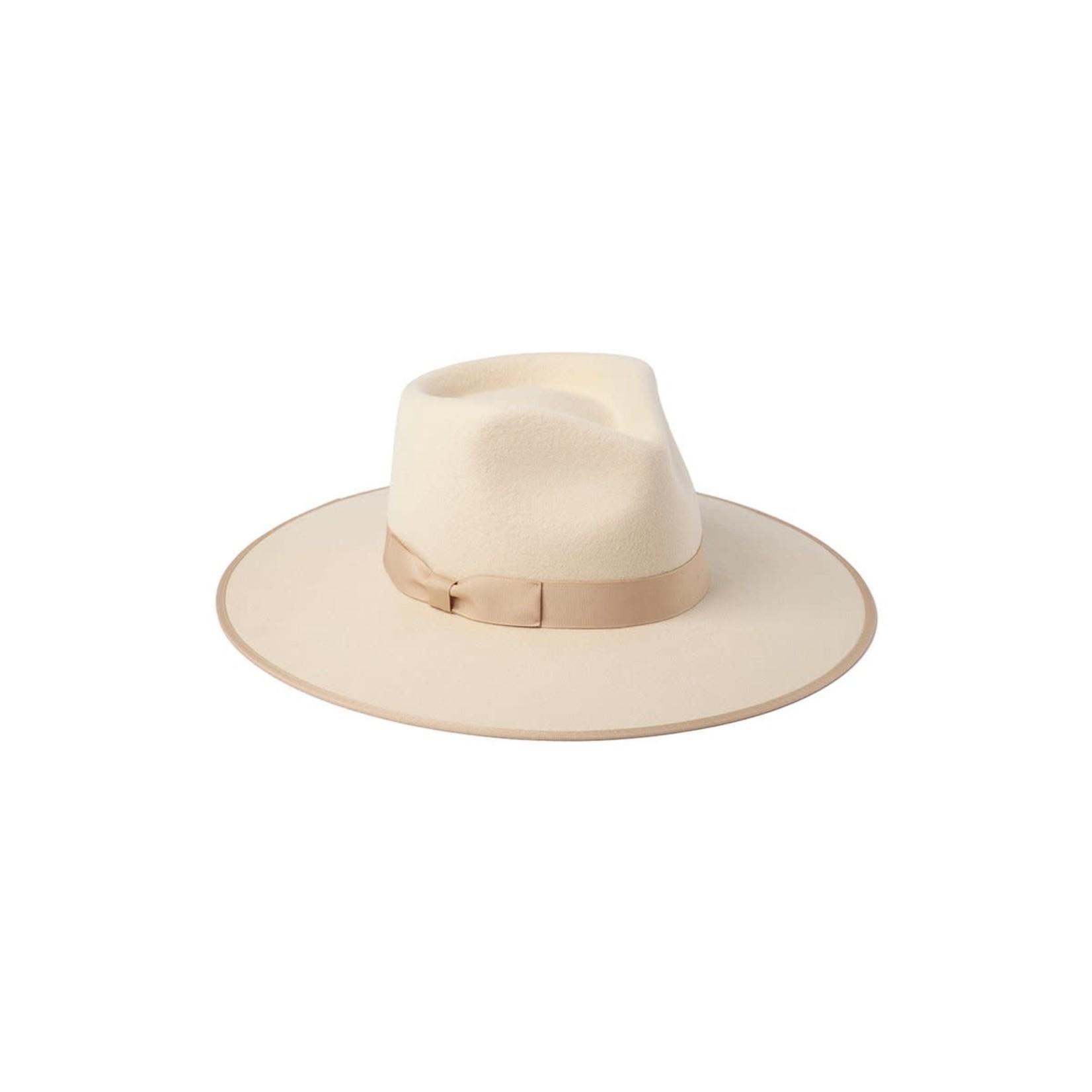 Lack of Color Ivory Rancher Hat Kids