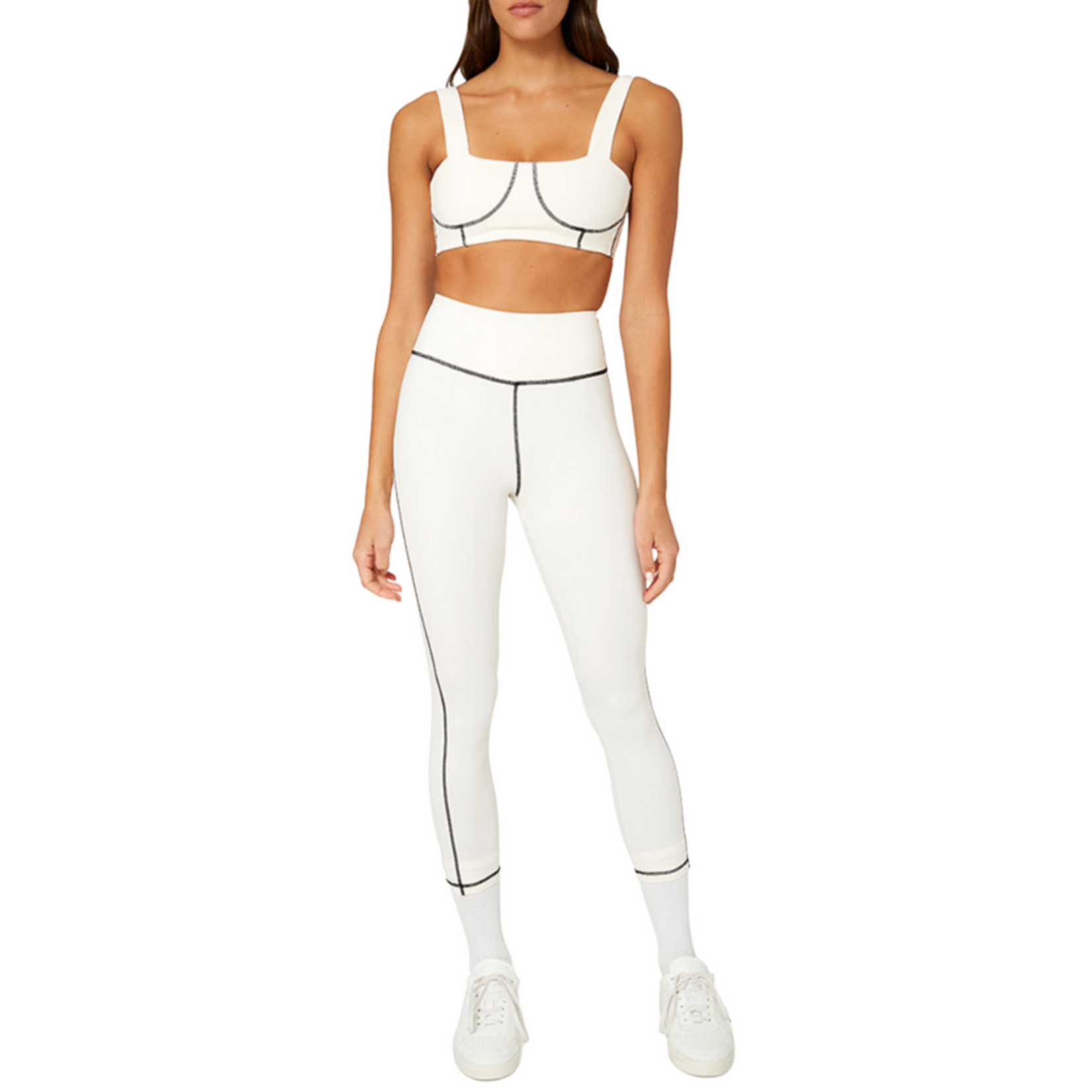 Shop WeWoreWhat Off White Corset Top
