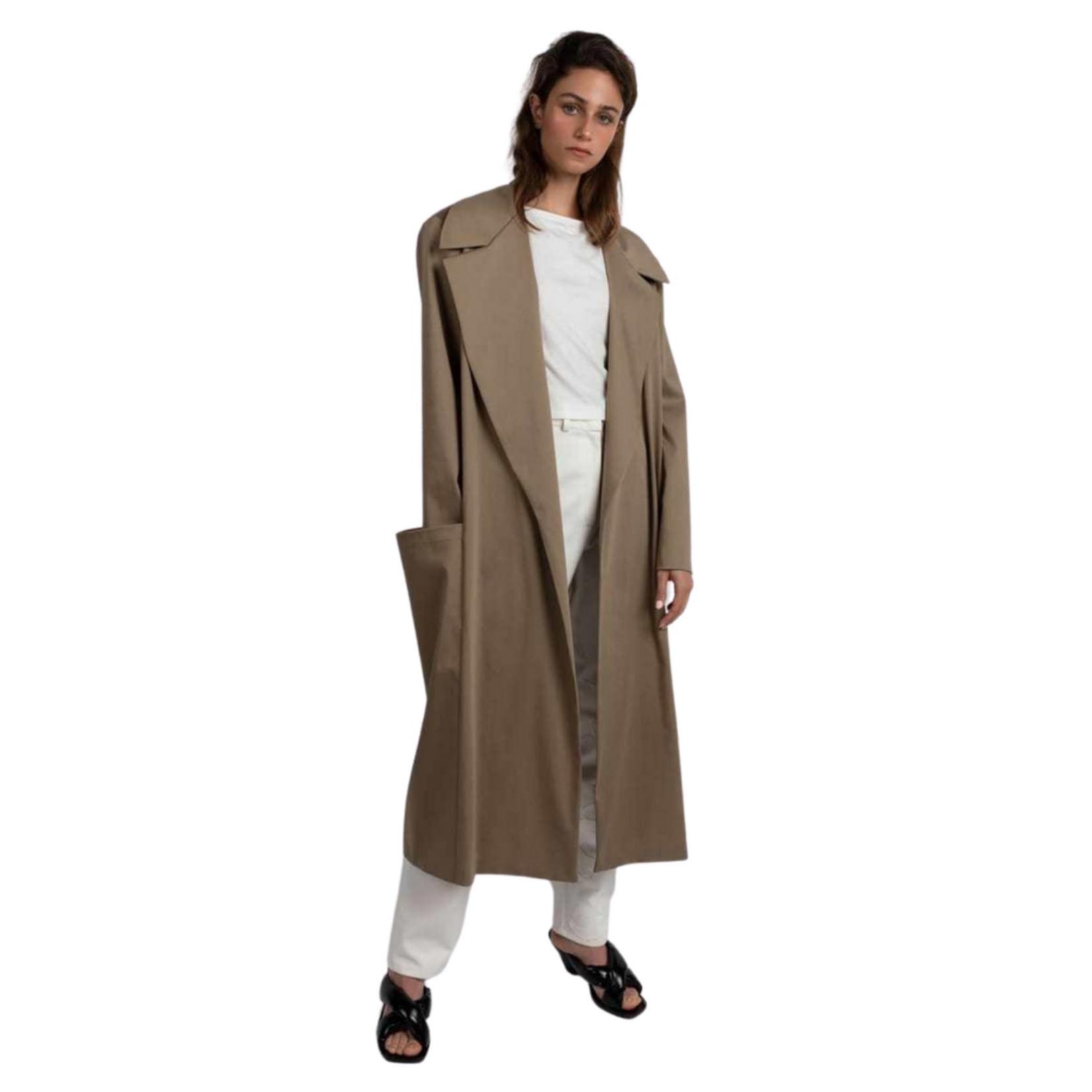 Esant 3D Pocket Long Coat