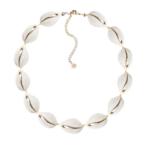 Adriana Pappas Natural Shell Choker Ivory