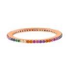 Adinas Rainbow Ring Rose Gold