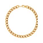 Martha Calvo Libre Cuban Link Necklace