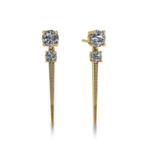 KBH Jewels Diamond Spike Studs