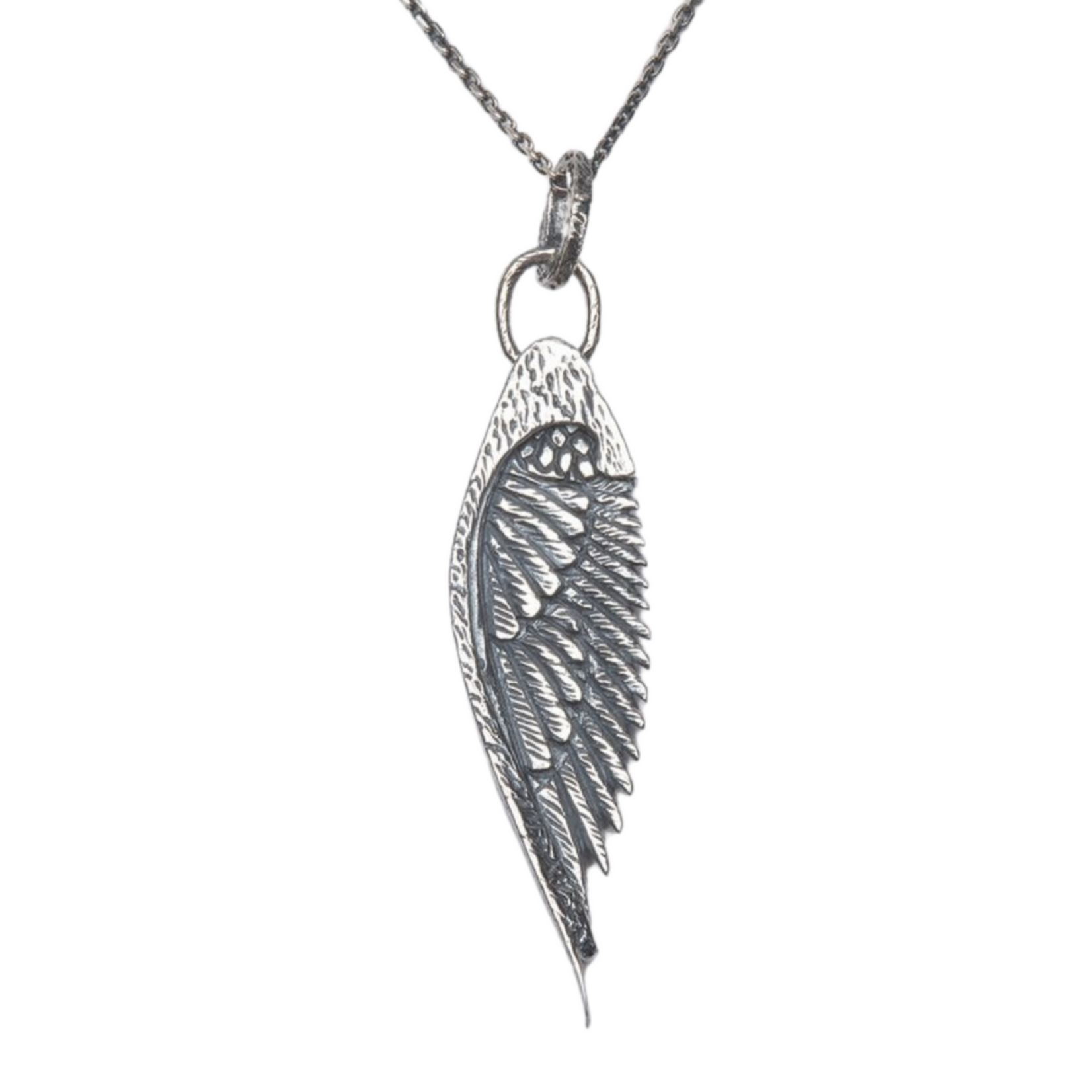 Buck Palmer Wing Necklace