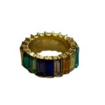 Wyld Blue Rainbow Gem Ring