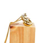 Hasta el Cogote Heart Necklace