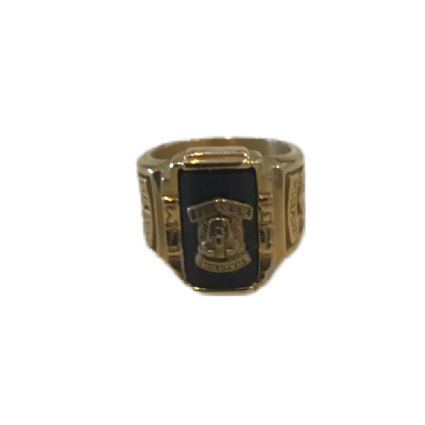 Gold Mens Ring - 8