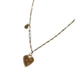 Elvis et Moi Attrape Coeur Necklace