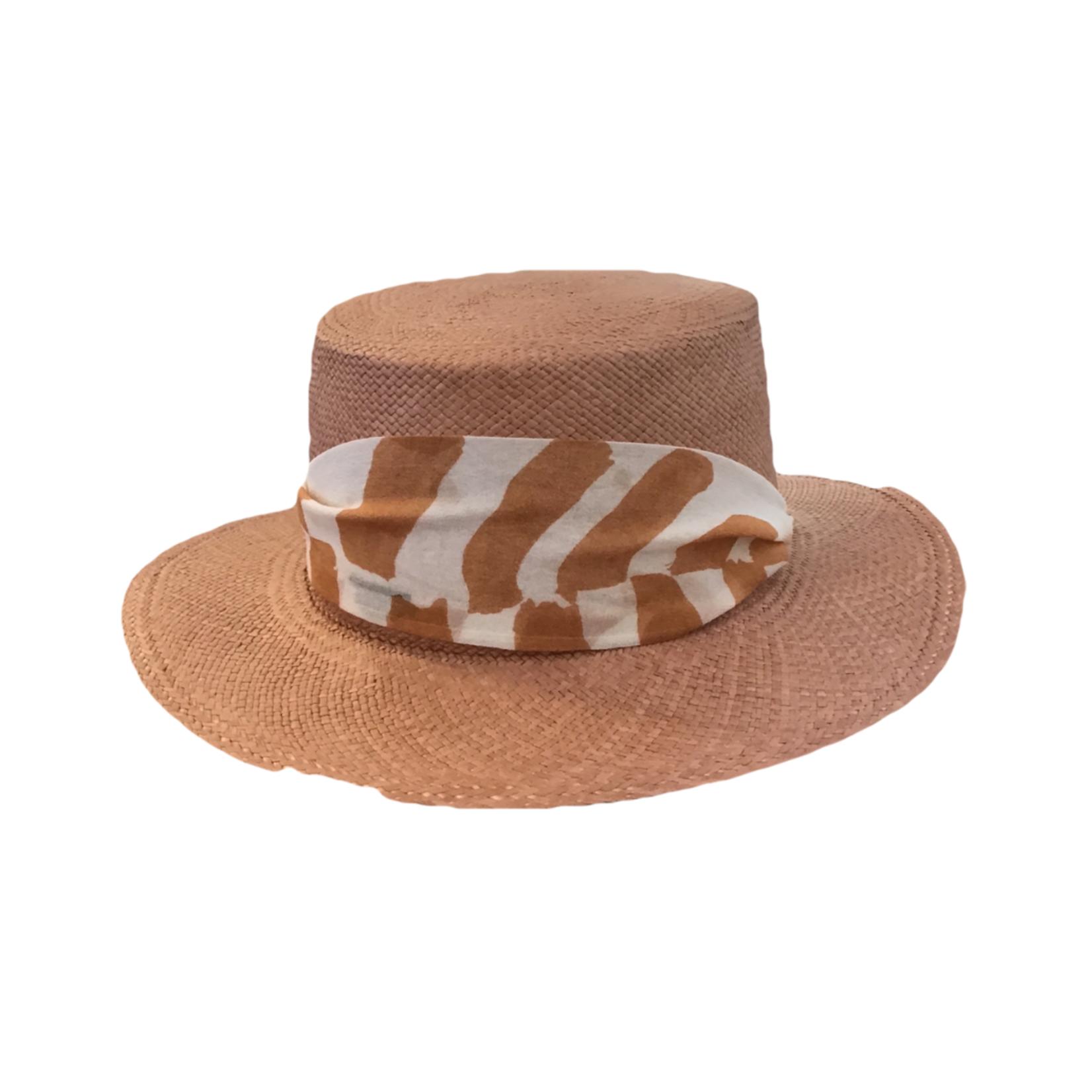 Modern Monarchie Palma Straw Hat