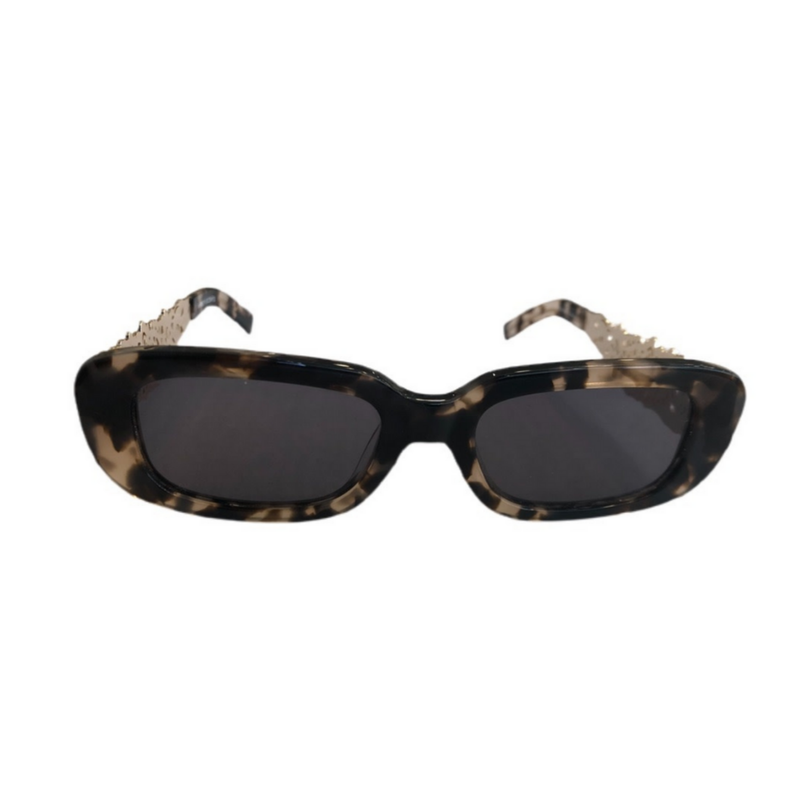 Amber Sceats Tortoise Sunglasses with Gold Side Detail