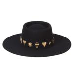 Lack of Color Celestial Boater Hat