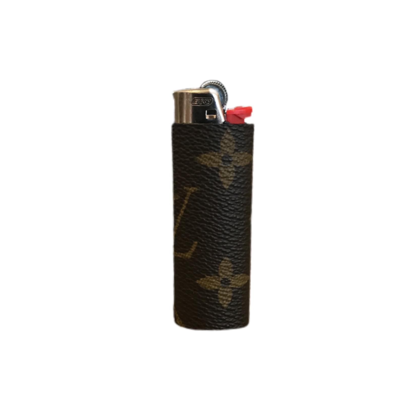 Sarah Coleman LV Brown Monogram Lighter