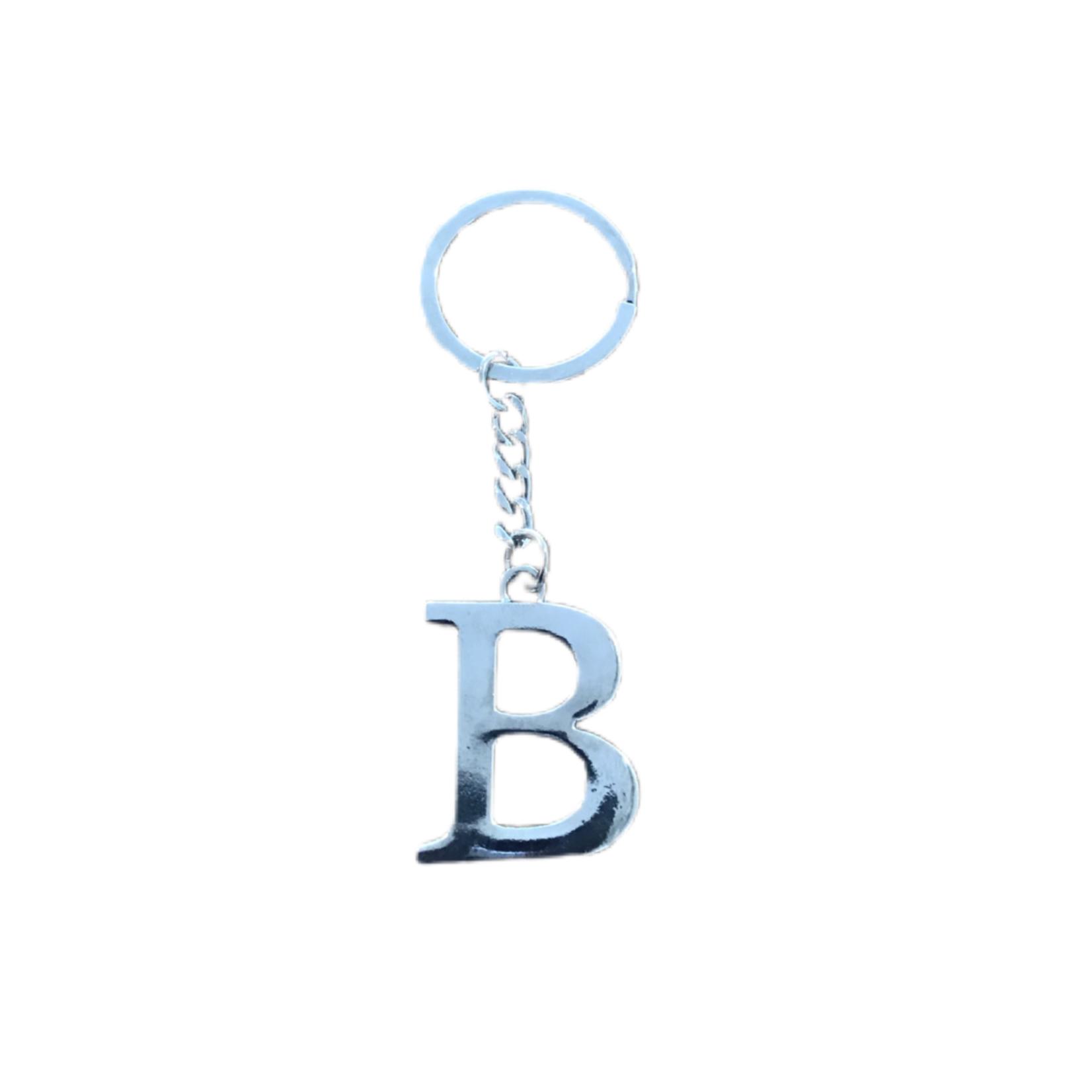 Wyld Blue Home Single Letter Keyring