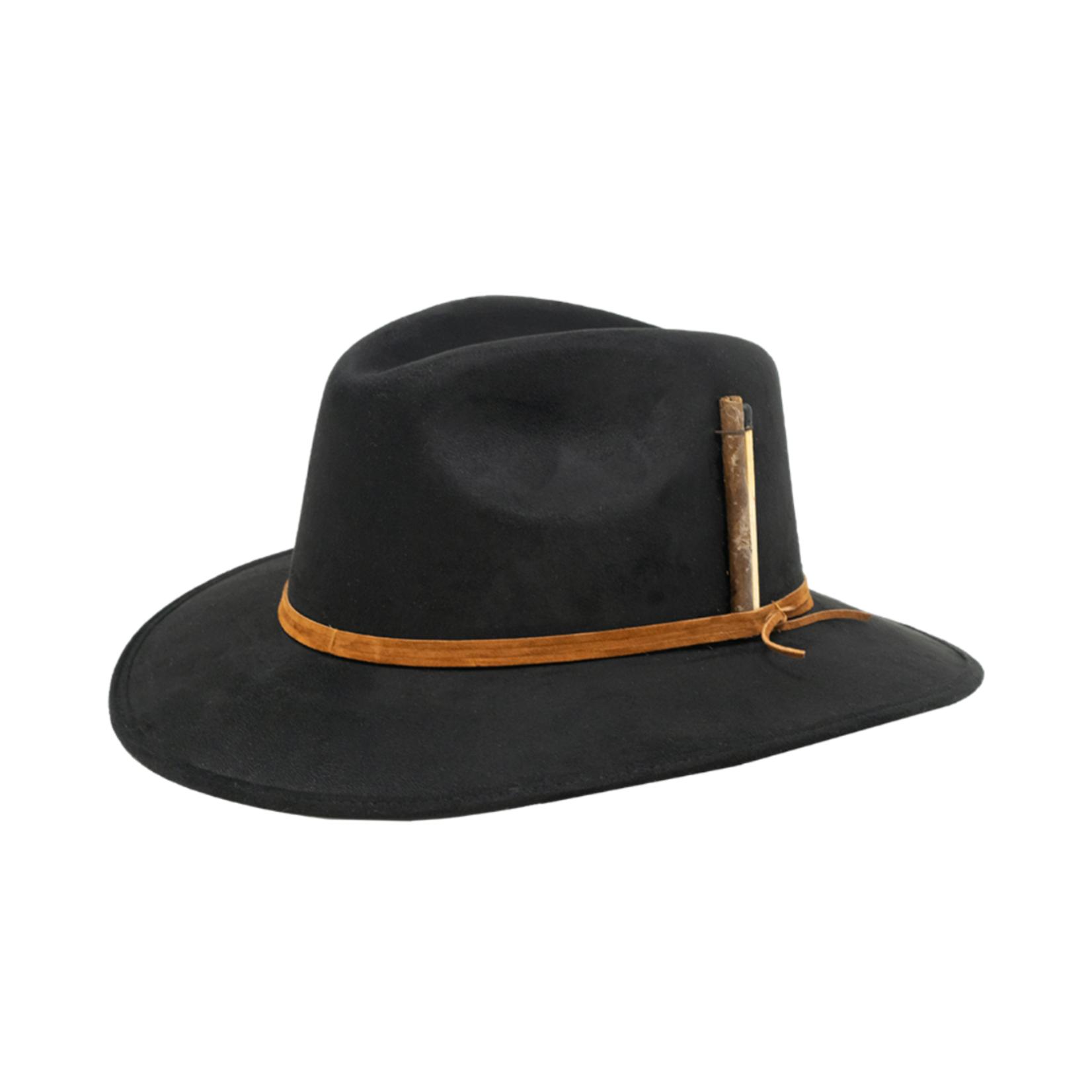 Tuluminati Habana Hat Black Suede