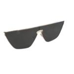 Wyld Blue Full aviator gold frame sunglasses