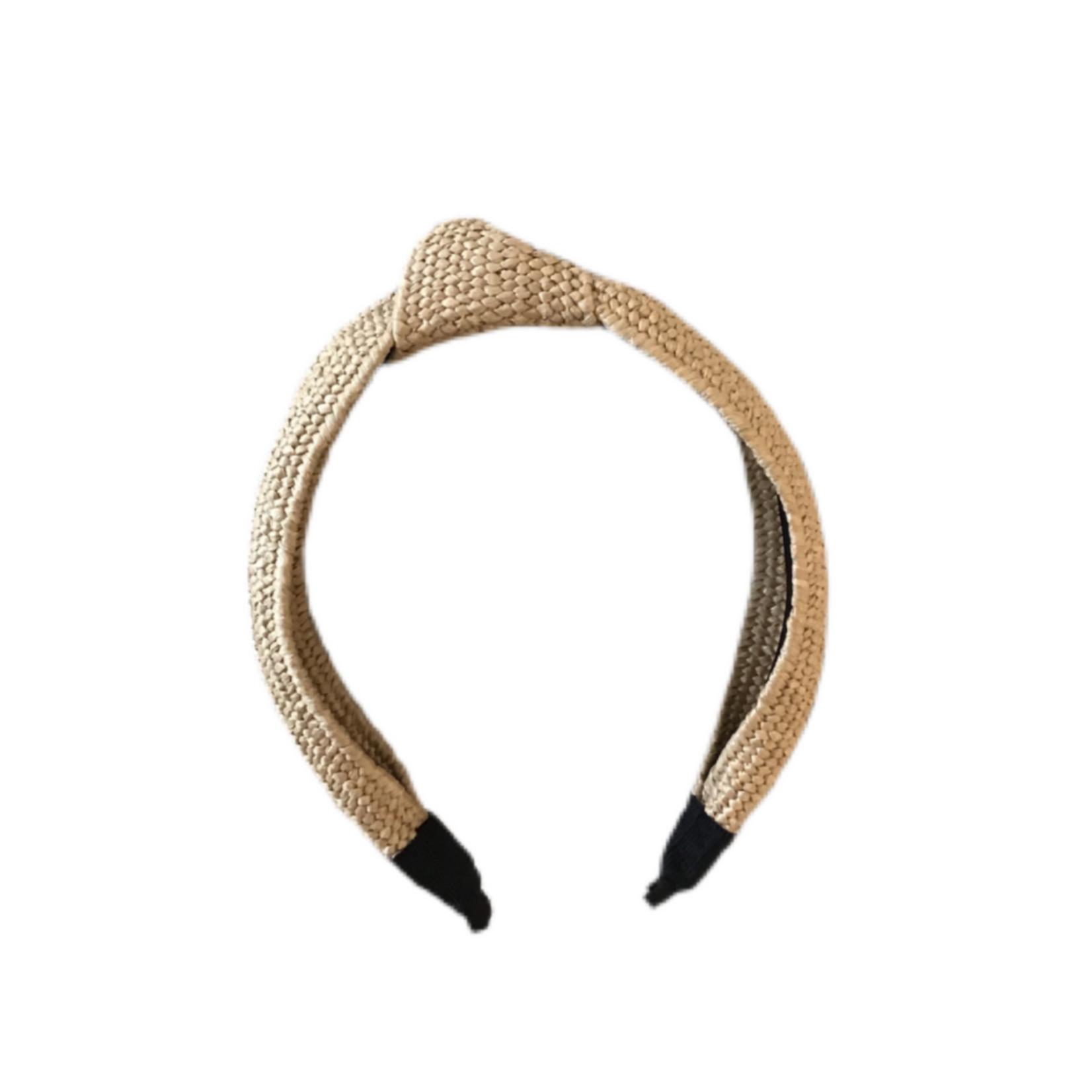 Wyld Blue Raffia Headband