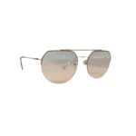 Wyld Blue Clear gold frame sunglasses