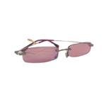 Wyld Blue Purple Rectangle Sunglasses