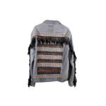Tuluminati Chichen Itza Blue Demin Jacket