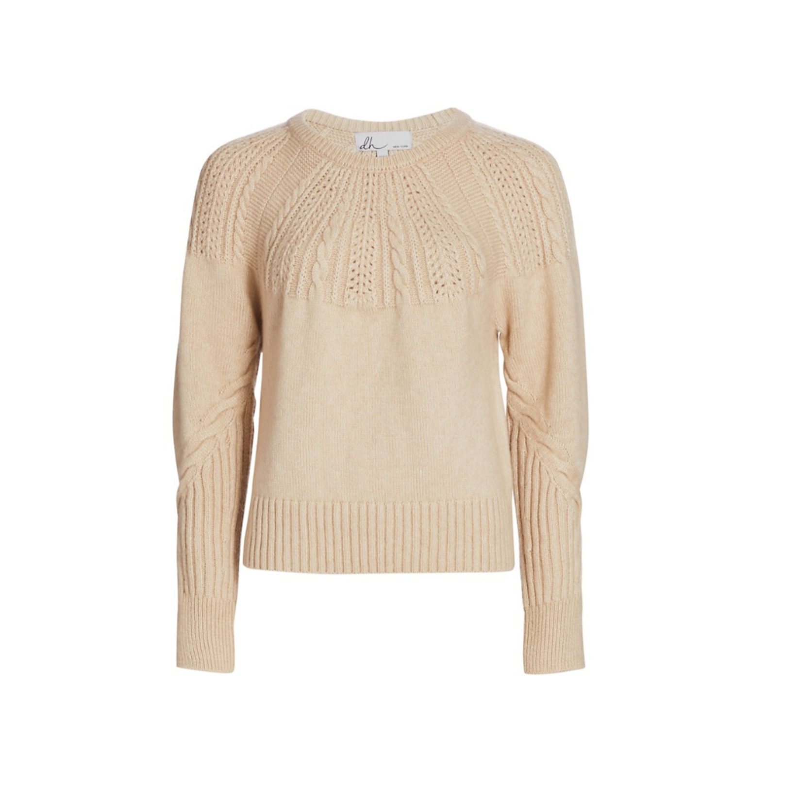 DH New York LS Sweater Haven Chai