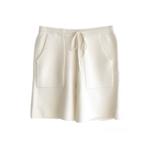 Zenzee Cashmere Ivory Pocket Short