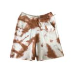 Zenzee Cashmere Copper Tie Dye  Shorts