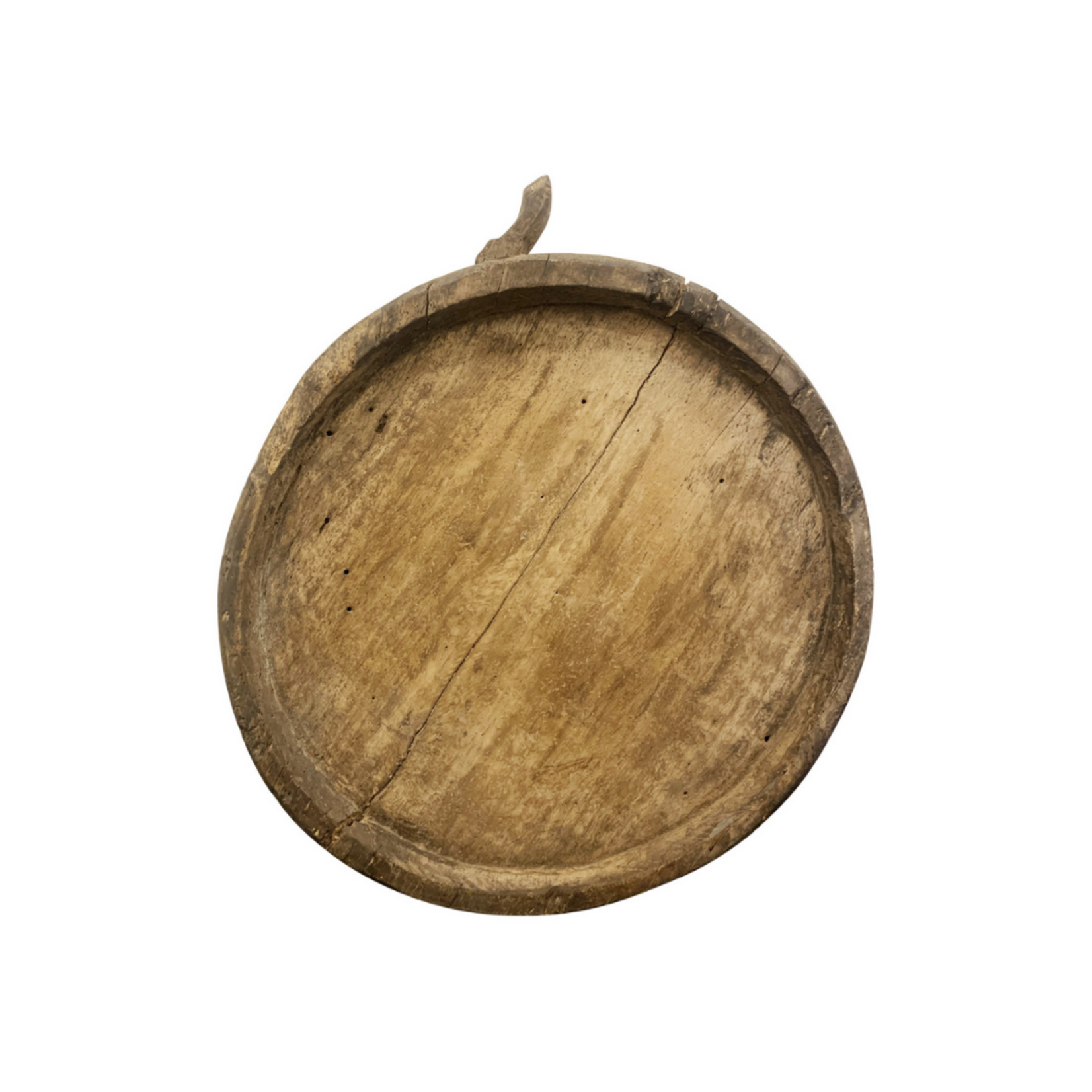 Wyld Blue Home Natural Wood Bowl