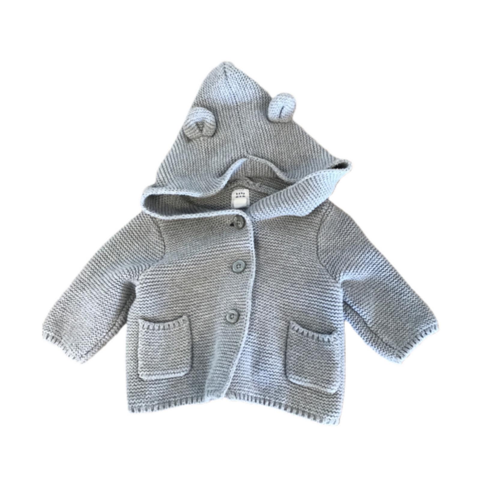 Wyld Blue Kids Kids Bear Sweater
