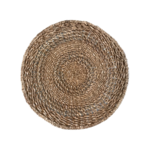 Wyld Blue Home Woven Plate Decor - Large
