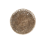 Wyld Blue Woven Plate Decor - Small