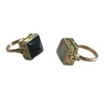 Wildsea Pyramid Locket Ring