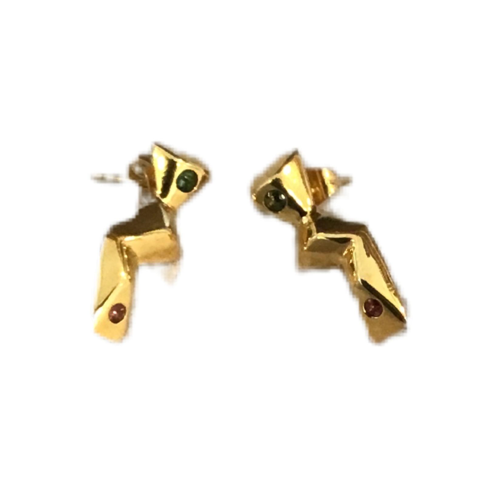 Wildsea Jungle Gypsy Stone Earrings