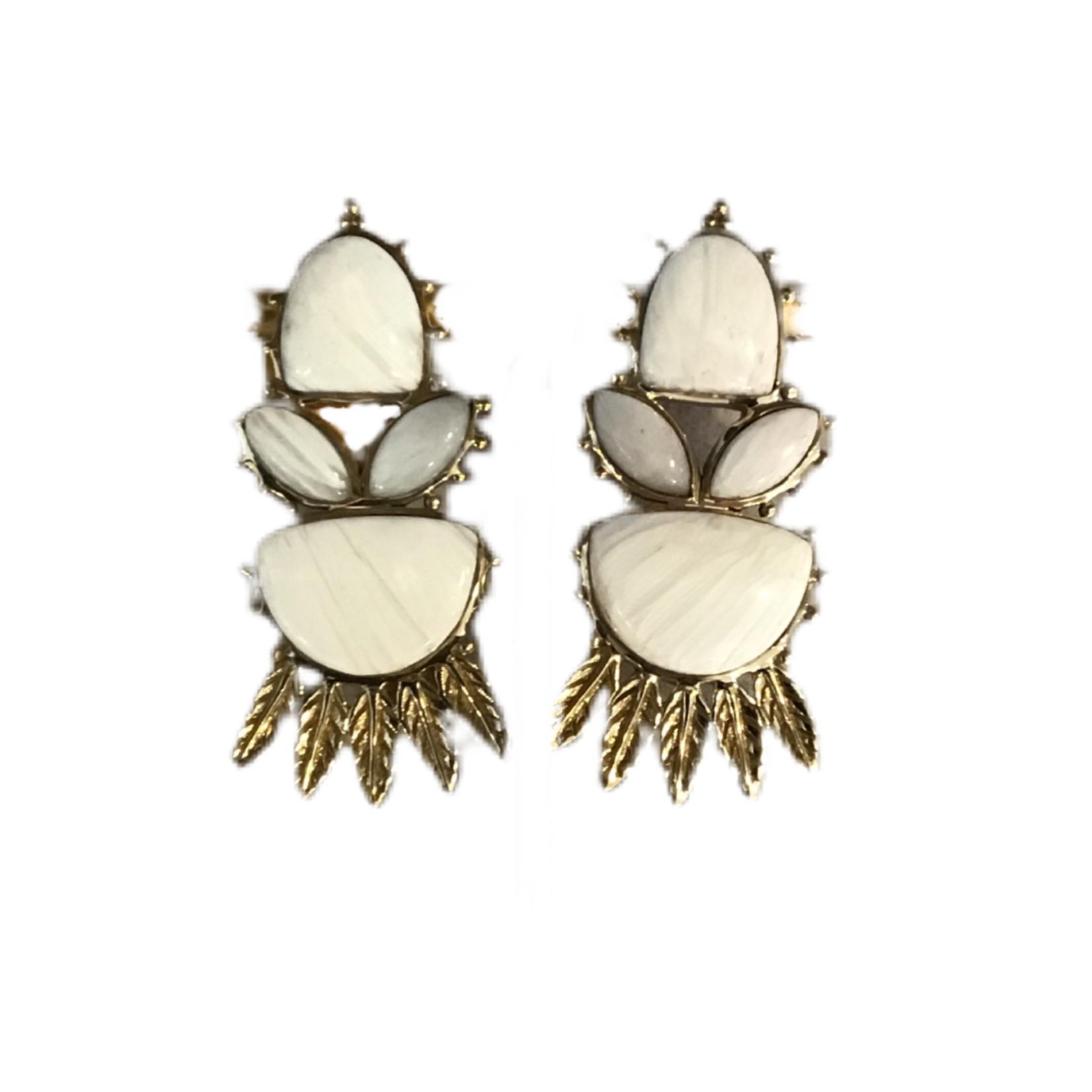 Wildsea Raj Leaf Earring