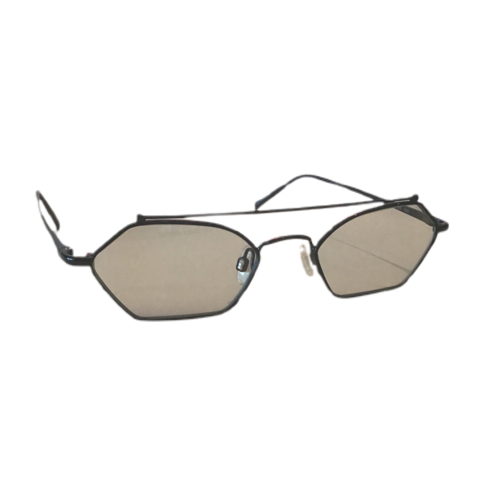 Wyld Blue Clear black frame sunglasses