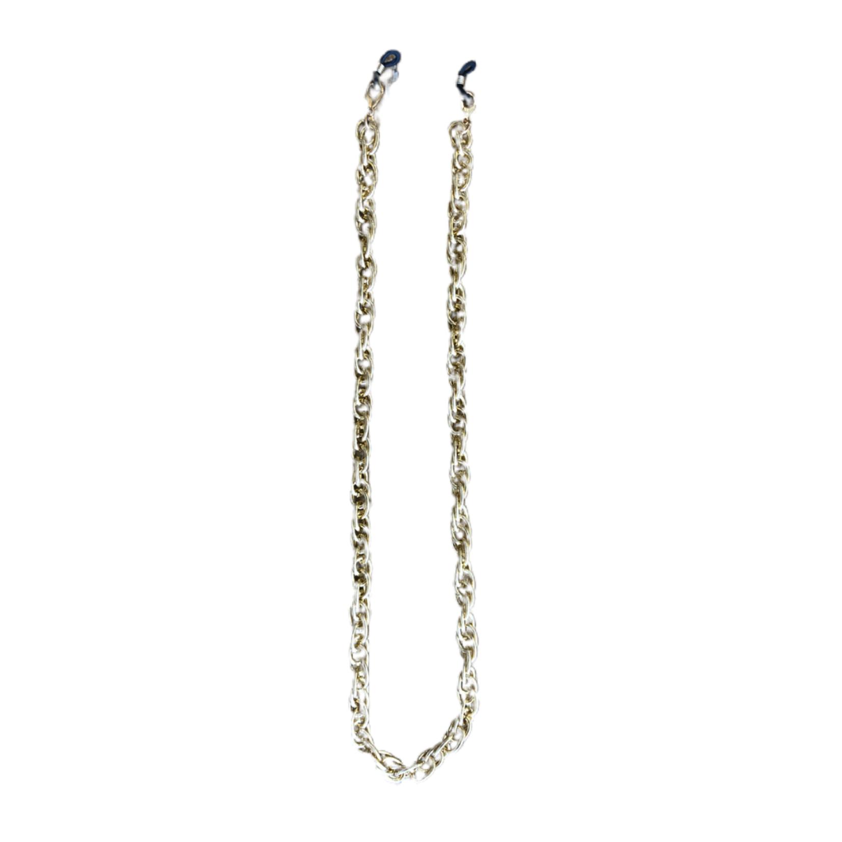 Wyld Blue Round Link Mask Chain