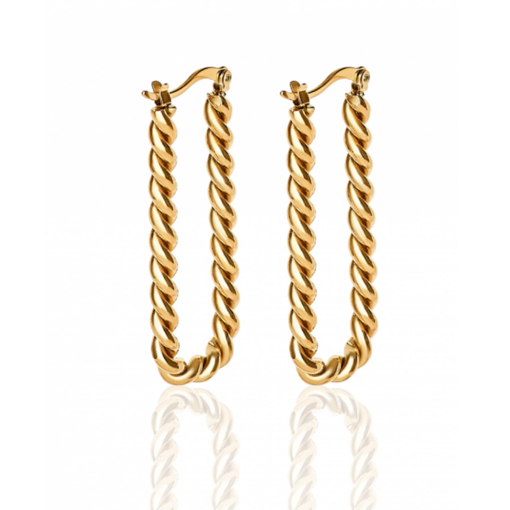 Simplicité Tres Chic Earrings