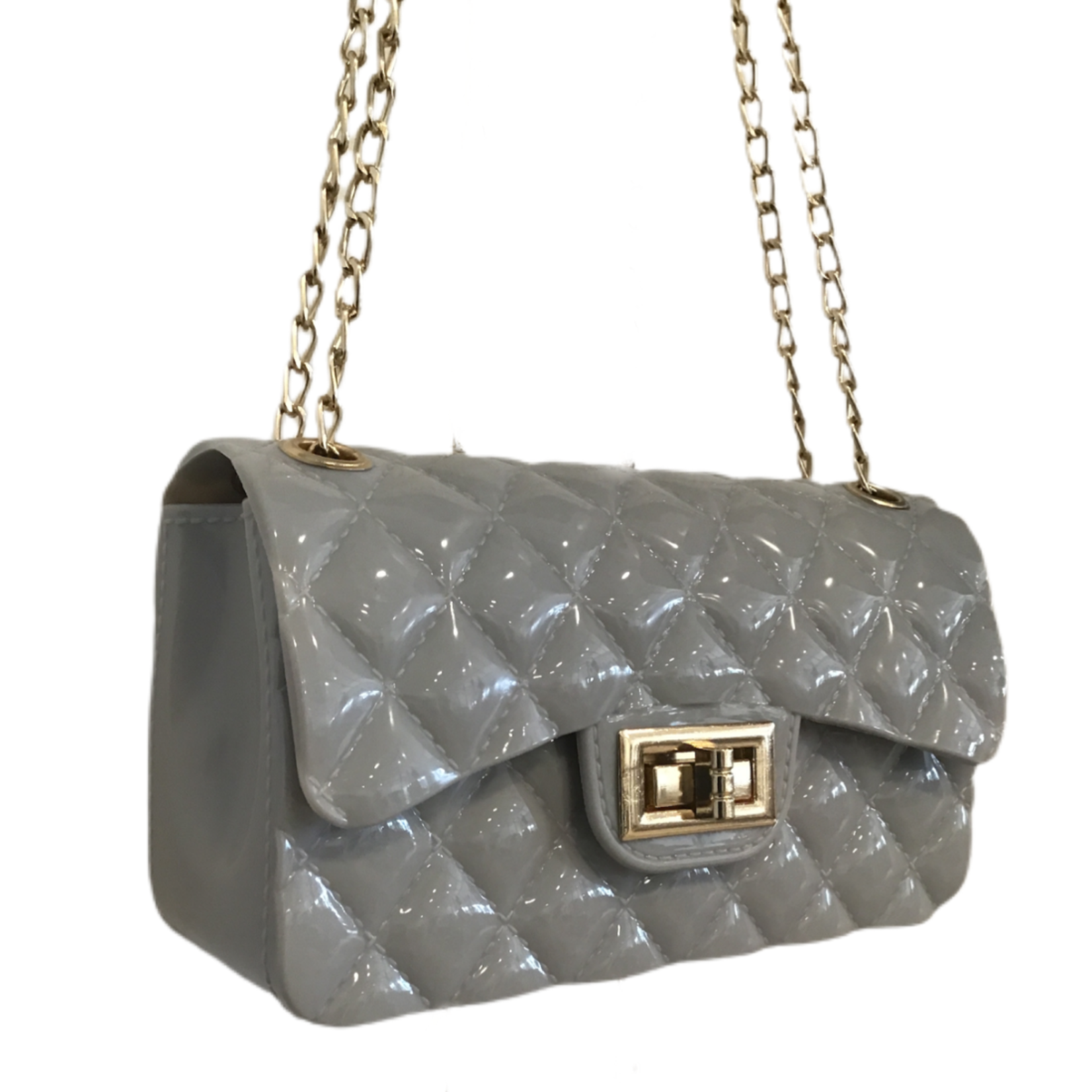 Wyld Blue Quilted Crossbody