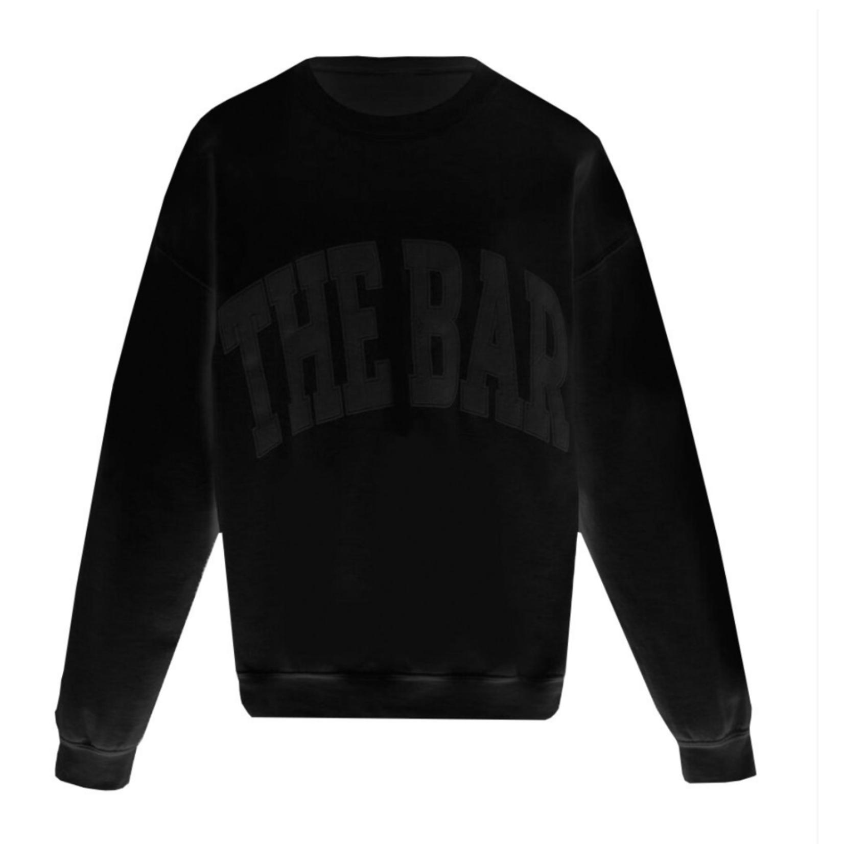 The Bar The Bar Black Hoodie
