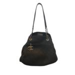 Wyld Blue Vintage Chanel Tote Bag